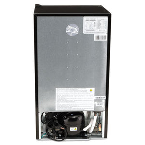 3.3 Cu.ft Refrigerator With Chiller Compartment, Black