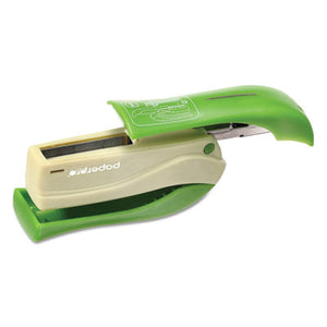 Inshape 15 Compact Stapler, 15-Sheet Capacity, Green
