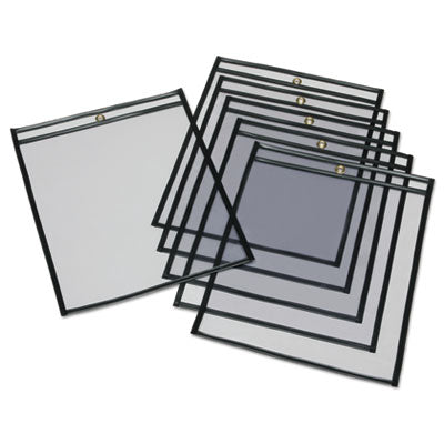 7510002729805 SKILCRAFT SHEET PROTECTORS, 10 X 13, CLEAR, 100/BOX