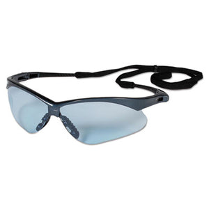 V30 NEMESIS VL SAFETY GLASSES, BLUE FRAME/LT BLUE LENS, NYLON/POLYCARB,12/CT