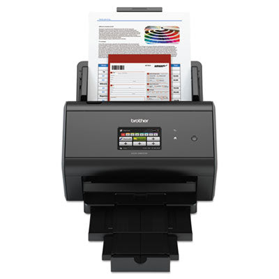 Imagecenter Ads-2800w Wireless Document Scanner For Mid To Large Size Workgroups