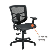 Load image into Gallery viewer, Alera Elusion Series Air Mesh Mid-Back Swivel/tilt Chair, Black