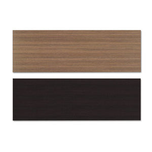 Reversible Laminate Table Top, Rectangular, 71 1/2w X 23 5/8d, Espresso/walnut