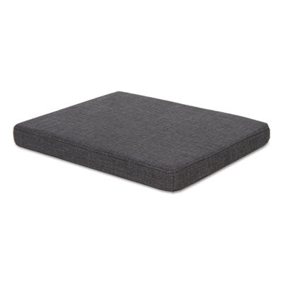 Seat Cushion For File Pedestals, 14 7/8 X 19 1/8 X 2 1/8, Smoke