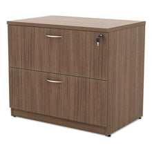 Load image into Gallery viewer, Alera Valencia Series Two-Drawer Lateral File, 34w X 22 3/4d X 29 1/2h, Walnut