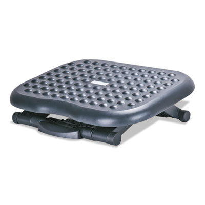 Relaxing Adjustable Footrest, 13 3/4w X 17 3/4d X 4 1/2 To 6 3/4h, Black