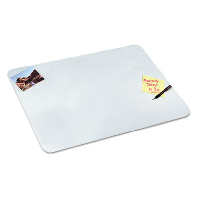 Clear Desk Pad, 20 X 36, Clear Polyurethane
