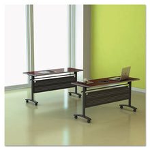 Load image into Gallery viewer, Alera Valencia Flip Training Table Base, Modesty Panel, 58w X 19-3/4d, Black