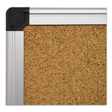 Load image into Gallery viewer, Value Cork Bulletin Board With Aluminum Frame, 36 X 48, Natural