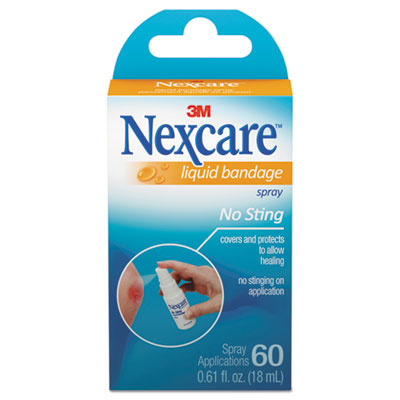No-Sting Liquid Bandage Spray, 0.61oz