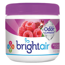 Load image into Gallery viewer, Super Odor Eliminator, Wild Raspberry & Pomegranate, 14 Oz Jar, 6/carton