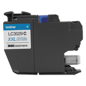 LC3029C INKVESTMENT SUPER HIGH-YIELD INK, 1500 PAGE-YIELD, CYAN