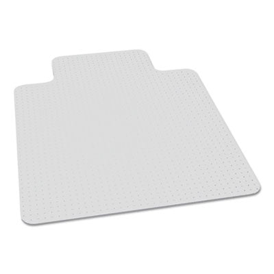 7220016568329, SKILCRAFT BIOBASED CHAIR MAT FOR LOW/MEDIUM PILE CARPET, 46 X 60, 25 X 12 LIP, CLEAR