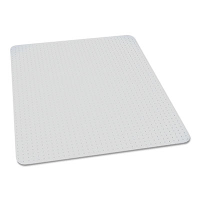 7220016568330, SKILCRAFT BIOBASED CHAIR MAT FOR LOW/MEDIUM PILE CARPET, 60 X 60, NO LIP, CLEAR