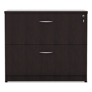 Alera Valencia Series Two Drawer Lateral File, 34w X 22 3/4d X 29 1/2h, Espresso