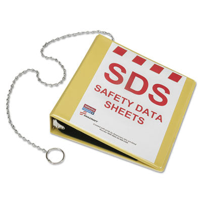 7510016236240 SKILCRAFT GLOBAL HARMONIZED SYSTEM SAFETY DATA SHEET BINDER, 3 RINGS, 2