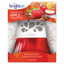 Load image into Gallery viewer, Scented Oil Air Freshener, Macintosh Apple And Cinnamon, Red, 2.5oz, 6/carton