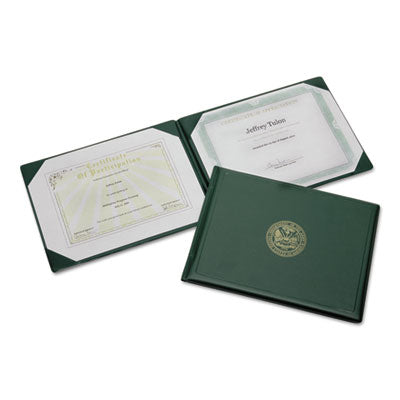 7510007557077 SKILCRAFT AWARD CERTIFICATE HOLDER, 8 1/2