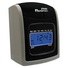 Load image into Gallery viewer, Atr480 Time Clock Bundle, Lcd, Automatic, White/charcoal