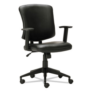 Everyday Task Office Chair, Black Leather