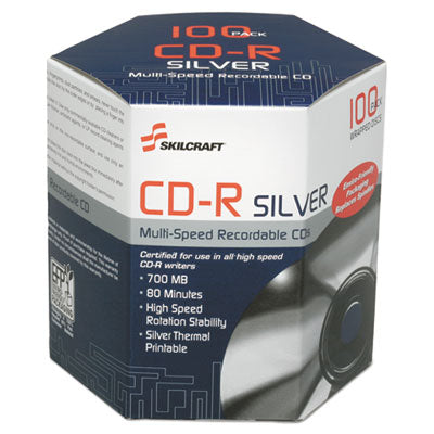 7045016582773, THERMAL PRINTABLE CD-R, 100/PACK