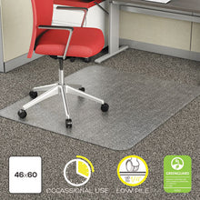 Load image into Gallery viewer, OCCASIONAL USE STUDDED CHAIR MAT FOR FLAT PILE CARPET, 46 X 60, RECTANGULAR, CR