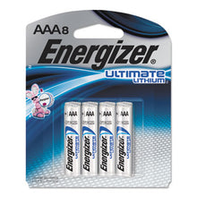 Load image into Gallery viewer, Ultimate Lithium Batteries, Aaa, 8/pack