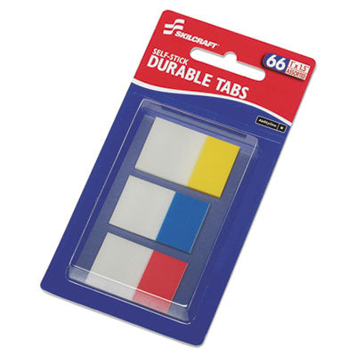 7510016614493 SKILCRAFT SELF-STICK TABS/PAGE MARKERS, 1