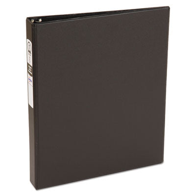 Economy Non-View Binder With Round Rings, 11 X 8 1/2, 1