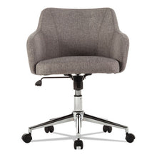 Load image into Gallery viewer, ALERA CAPTAIN SERIES MID-BACK CHAIR, GRAY TWEED