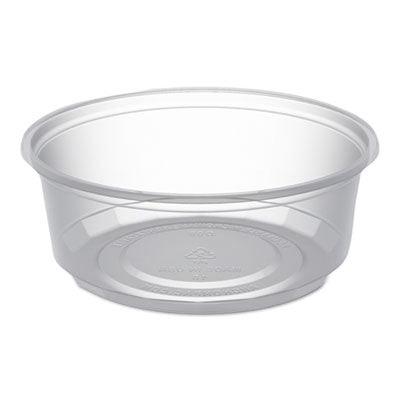 Microlite Deli Tub, 8 Oz, Clear, 500/carton
