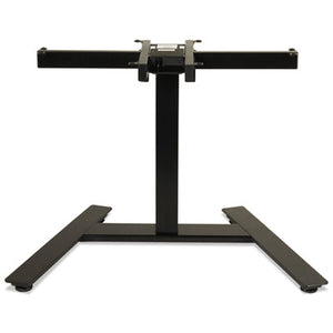 "Adaptivergo 1-Column Electric Adjustable Table Base, 24 3/4"" To 43 1/4""h, Black"
