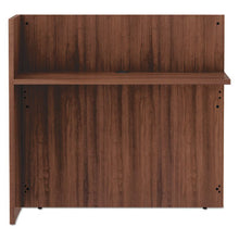 Load image into Gallery viewer, ALERA VALENCIA SERIES REVERSIBLE RECEPTION RETURN, 44 X 23.63 X 41.5, MOD WALNUT