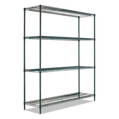 BA PLUS WIRE SHELVING KIT, 4 SHELVES, 72
