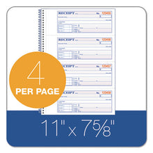 Load image into Gallery viewer, Tops Money/rent Receipt Book, 7 1/8 X 2 3/4, 2-Part Carbonless, 200 Sets/book