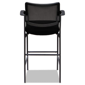 ALERA IV SERIES GUEST STOOL, 19 5/8 X 19 1/4 X 19 1/4, 275 LBS, BLACK, 2/CT
