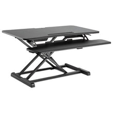 "Load image into Gallery viewer, ADAPTIVERGO SIT-STAND WORKSTATION, 37 3/8"" X 26 1/8"" X 19 7/8"", BLACK"