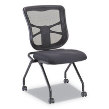 Load image into Gallery viewer, ELUSION MESH NESTING CHAIRS, BLACK SEAT, 2 PER CARTON