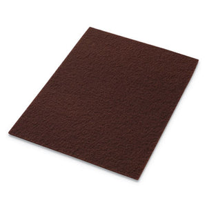 ECOPREP EPP SPECIALTY PADS, 28W X 14H, MAROON, 10/CT