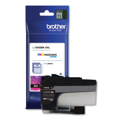 LC3033BK INKVESTMENT SUPER HIGH-YIELD INK, 3000 PAGE-YIELD, BLACK