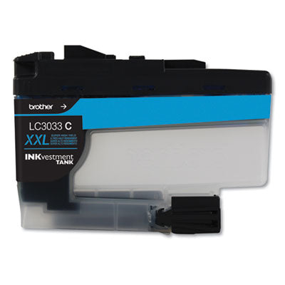LC3033C INKVESTMENT SUPER HIGH-YIELD INK, 1500 PAGE-YIELD, CYAN