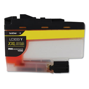 LC3033Y INKVESTMENT SUPER HIGH-YIELD INK, 1500 PAGE-YIELD, YELLOW