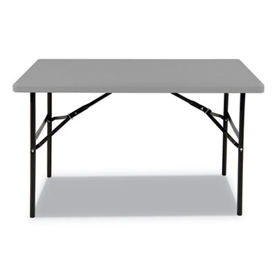 7110016716418, SKILCRAFT BLOW MOLDED FOLDING TABLES, RECTANGULAR, 30 X 96 X 29, CHARCOAL