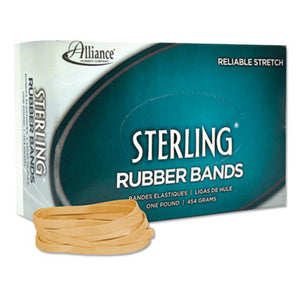 Sterling Rubber Bands Rubber Bands, 64, 3 1/2 X 1/4, 425 Bands/1lb Box