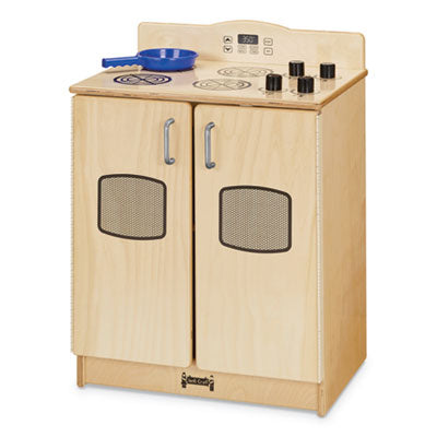 CULINARY CREATIONS BIRCH KITCHEN, STOVE, 20W X 15D X 27H, BIRCH