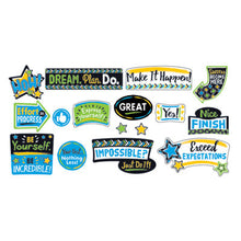 "Load image into Gallery viewer, BOLD STROKES PHRASES BULLETIN BOARD SET, ASSORTED, 18 1/4"" X 31"""