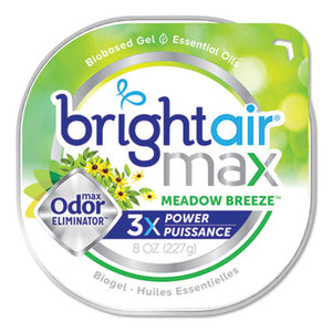 MAX ODOR ELIMINATOR AIR FRESHENER, MEADOW BREEZE, 8 OZ, 6/CARTON