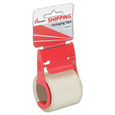7510016758745 SKILCRAFT SHIPPING PACKAGING TAPE WITH DISPENSER, 1.5
