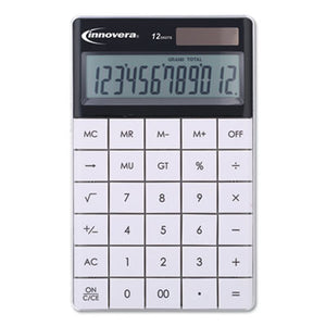 15973 LARGE BUTTON CALCULATOR, 12-DIGIT, LCD