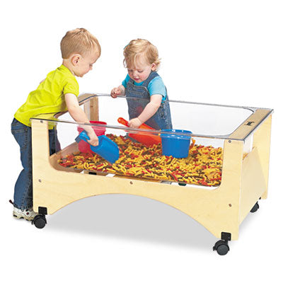 Sensory Table, 37w X 23d X 20h, Birch